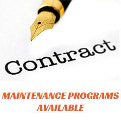 Maintenance Programs Available